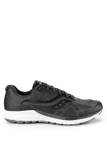 Saucony grey Ride 10 3E90ASH9643DF1GS_1