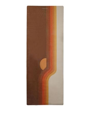 Milliot & Co. brown Retro Sunrise Sport Mat (6MM) A97D3AC4A67DF1GS_1