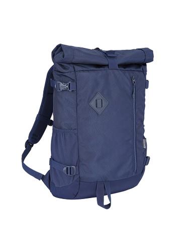 Coleman blue Atlas Roll Top Backpack 8DA98AC05C864FGS_1