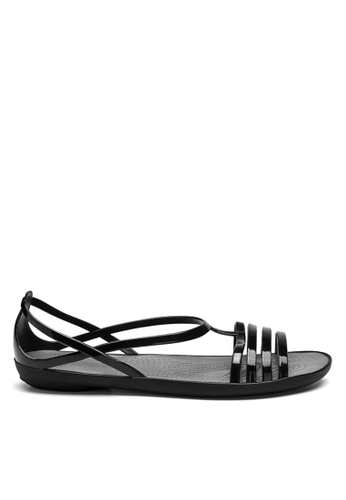 Twenty Eight Shoes black Jelly Strappy Rain and Beach Sandals VR1808 6283ESH85159F4GS_1