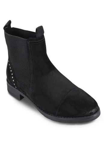Frontier 金屬釘邊飾高筒靴esprit outlet 台灣, 女鞋, 鞋