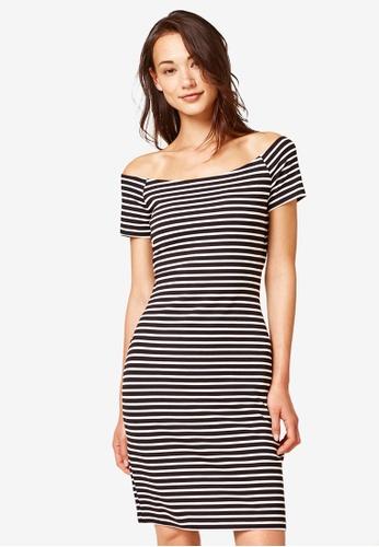 ESPRIT black Knitted Mini Dress 8BFC5AA404993BGS_1