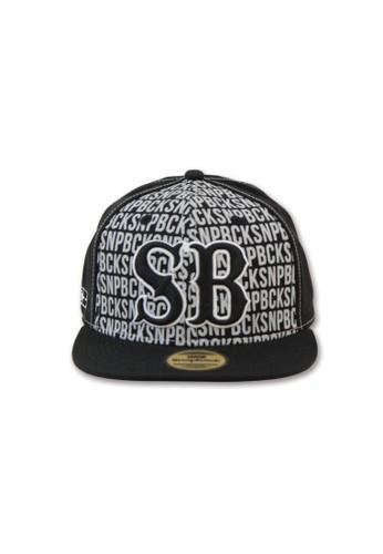 Snapback grey and navy Snapback Wool - SB Black - Black SN532AC21PHIID 1 336bb5ed88