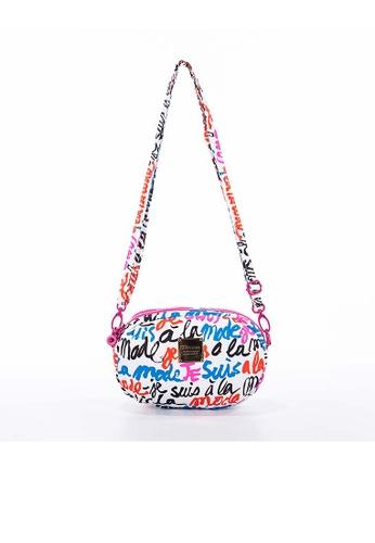 VOVAROVA white VOVAROVA 2-zip Puff Sling Bag  -  I'm in Fashion (White) CC885AC7B5329FGS_1