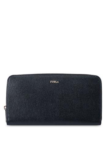 Furla black Babylon XL Zip Around Wallet 69FFBACED065C9GS_1