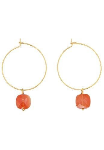 Dear Addison gold Coral Earrings 344F2AC3FA26DDGS_1