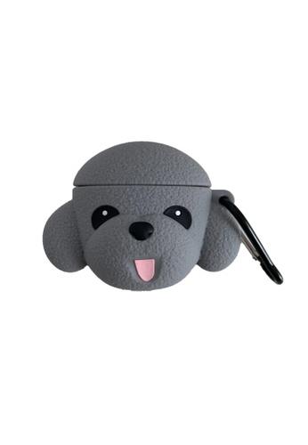 Kings Collection grey Cute GreyTeddy Dog (KCAC2056) B9D21AC9B792EFGS_1