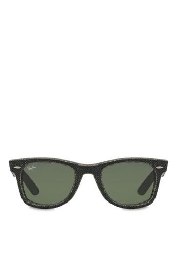Wayfarer 丹寧太陽眼鏡, 飾品配件, 飾esprit 會員卡品配件