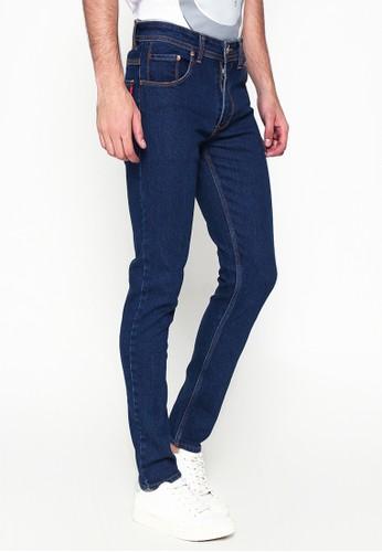 2nd Red blue Jeans Slim Fit Premium Denim Stretch Dark Blue ZA253 8B50EAAA099C9EGS_1