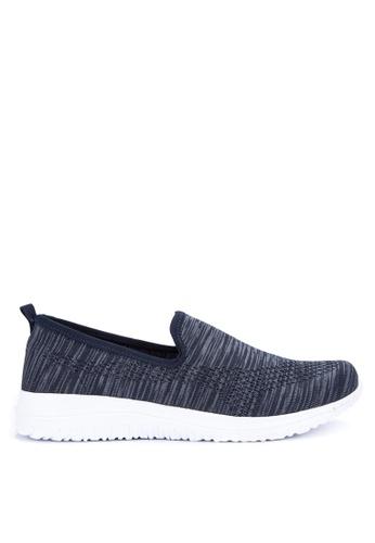 Alberto navy Textile Comfort Sneakers E6CE6SHF81F32EGS_1