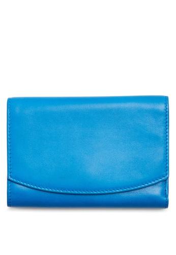 Skagen blue Skagen Compact Leather Flap Wallet SWS0232433 SK533AC45CGCMY_1