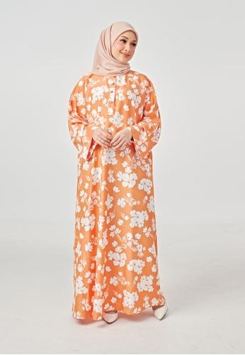 Imaan Boutique yellow Yoori Kaftan 2.0 Mulan 7DE8CAA2B0517EGS_1
