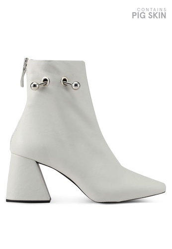 TOPSHOP white MIGHTY Ankle Boots TO412SH0SLDIMY_1