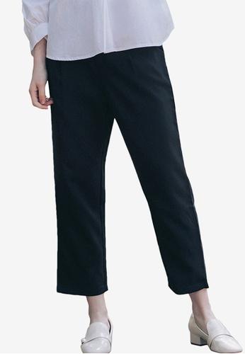 Kodz black Tailored Trousers C3717AA0406679GS_1