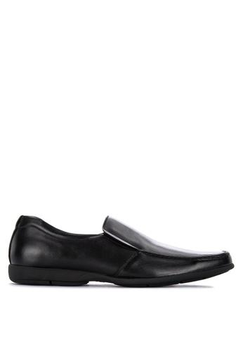 Gibi black Sum 5112 Side Garter Formal Shoes 8A988SHA404AB6GS_1