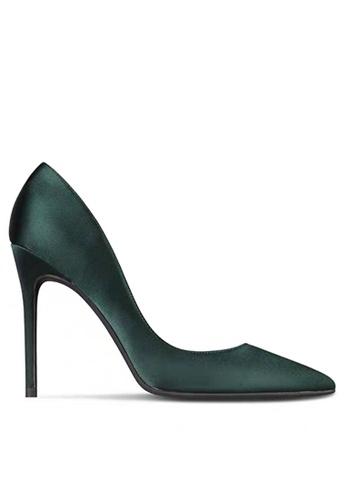 Twenty Eight Shoes 8CM Silk Fabrics Pointed High Heel Shoes D01-c FC288SHB3F4C7DGS_1
