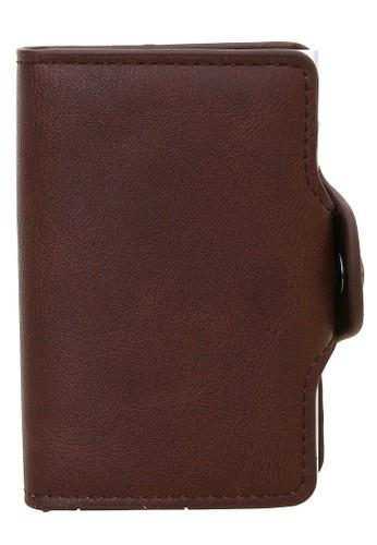 Baellerry brown Dompet Pria Model Pendek Casual Men Wallet Material Leather Many Slot ORIGINAL 4B33CAC3C2C7DBGS_1