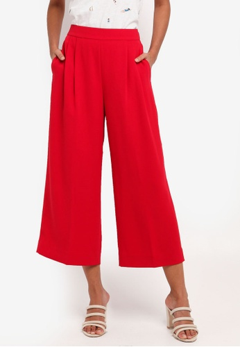 J.Crew pink Wide Leg Cropped Easy Pants 4A941AA8DD3507GS_1