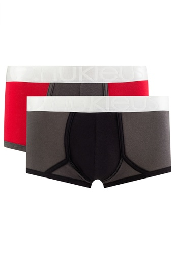 Nukleus grey and red The Gift Of Life  (Shorty) 90E95US0B41238GS_1