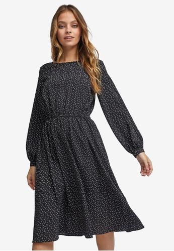 Dorothy Perkins Maternity Womens Spot Jersey Bardot Midi Dress
