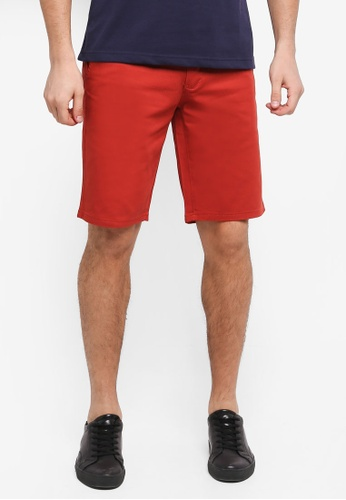 Fidelio 橘色 休閒素色短褲 16588AA35BEC54GS_1