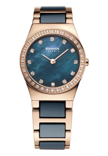 Bering gold Ceramic 32426-767 Blue 26 mm Women's Watch 01643AC27AA57FGS_1