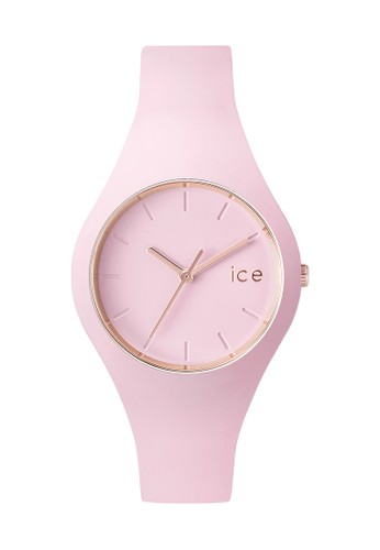esprit台灣網頁Ice Glam 矽膠小圓錶, 錶類, 飾品配件