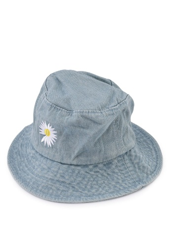 Milliot & Co. blue Reese Bucket Hat 21962AC0818A66GS_1
