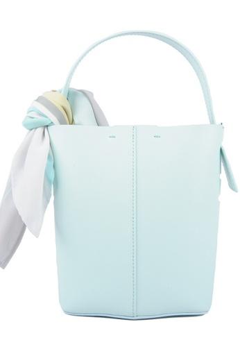 RO Bags green RO Terranova Felucca Mini Top Handle Bucket Bag in Mint Green/Spring Green 5C35DACCE460FEGS_1