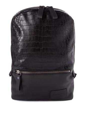 Calvin Klein black Campus Backpack Bag CA221AC0JXK0PH_1