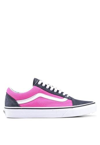 088354c62b VANS pink Old Skool 2-Tone Sneakers F7D95SH626E904GS 1