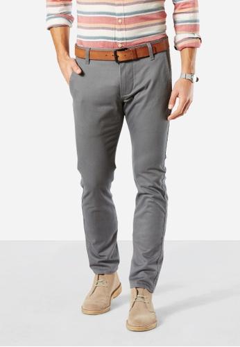 Dockers grey Dockers Alpha Original Skinny Pants Burma Grey 7B851AA39B8645GS_1