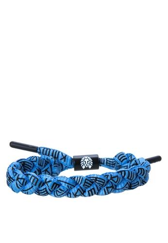 Rastaclat blue Shoelace Bracelet: Shabazz RA072AC0ISBIPH_1