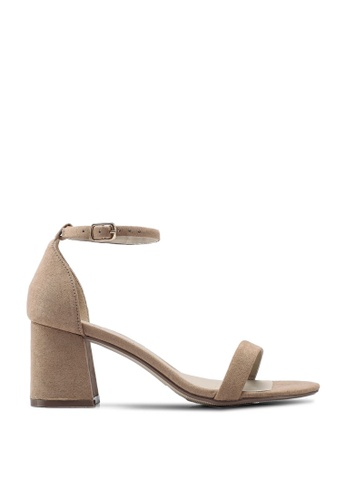 c8bf96c6eb2 Mid Block Barely There Heels