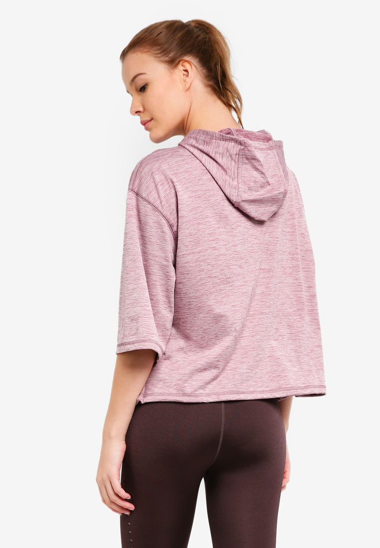 Marle On Mauve Sporty Pullover Cotton Thistle Body q6gwxnXdY