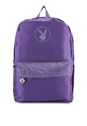 Playboy purple Playboy Backpack PL371AC36DPBMY_1
