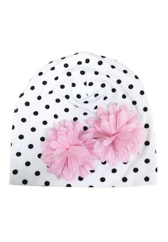 Lowela white Beanie Hat 49EE9KC8A3E4C1GS_1