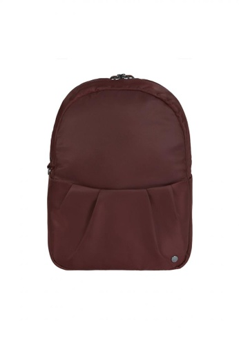 Pacsafe red Pacsafe Citysafe CX Convertible Anti-Theft Backpack - Merlot E0F4EAC529D6C2GS_1