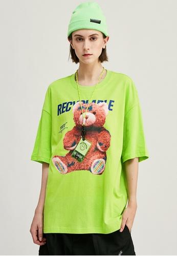 Twenty Eight Shoes Trend Printed Short T-shirt 1237S20 8D1D1AA9431DC0GS_1