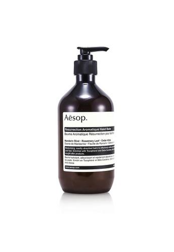 AESOP AESOP - Resurrection Aromatique Hand Balm 500ml/16.67oz A90A3BE38064FEGS_1