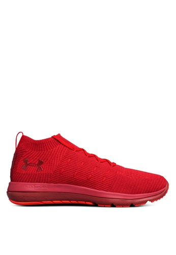 Under Armour red UA Slingflex Mid Shoes UN337SH0SU9PMY_1