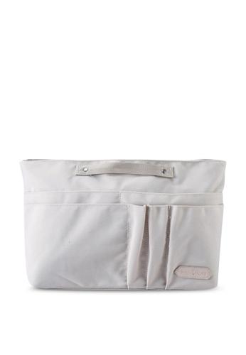 Bagstationz beige SC Premium Organizer Bag ADCDFAC5EB5A6FGS_1