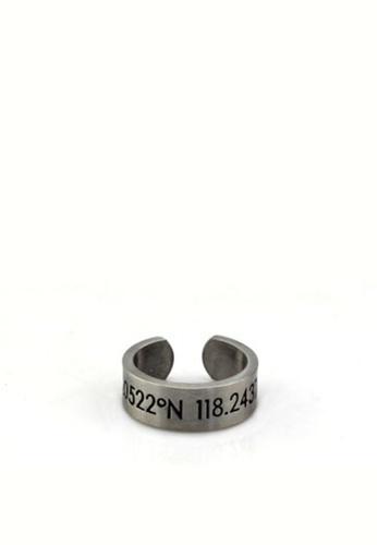 HAPPY FRIDAYS Titanium Steel Longitude And Latitude Ring DW0072 6E6DEAC631D4FAGS_1