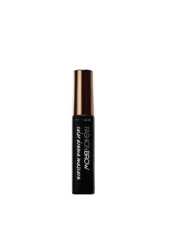 Maybelline brown Maybelline Fashion Brow Color Drama Mascara Deep Brown 65880BE2EE63AFGS_1