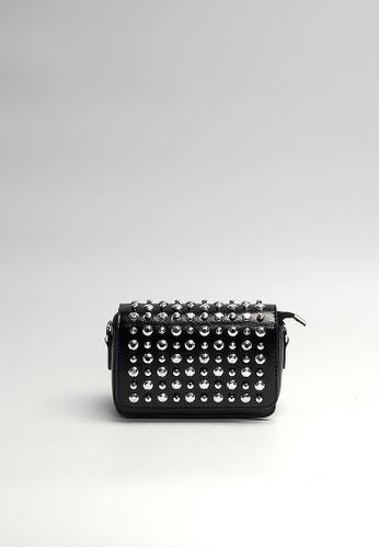 aaccfe2a4b84 Buy Lara Women s Small Rivets Crossbody Bag