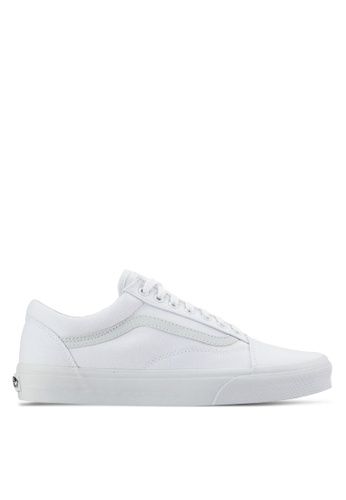VANS white Core Classic Old Skool Sneakers VA142SH61SDAMY_1
