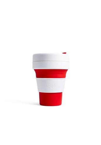 Stojo stojo pocket cup 12oz / 355ml, Red 86691HL3DA87F1GS_1