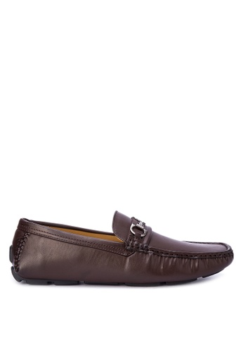 Mendrez brown Charlie Loafers ME992SH0KG1XPH_1