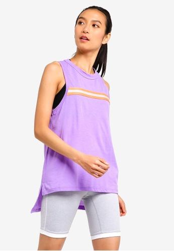 Cotton On Body purple Jersey High Neck Tank Top 12316AA40B9E5AGS_1