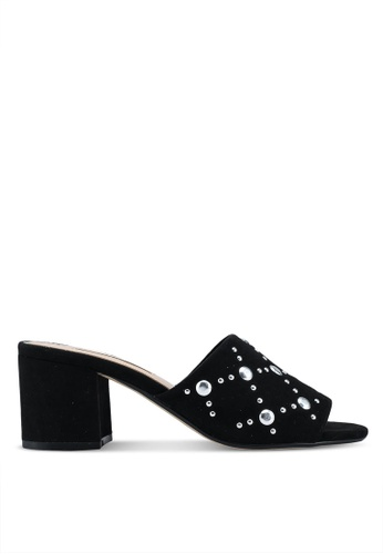 Dorothy Perkins black Black Steph Heeled Mule Sandals 38426SH7A78CA9GS_1